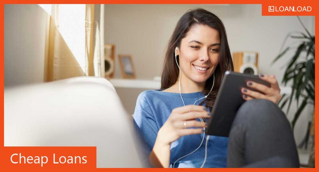 cheap loan rates online