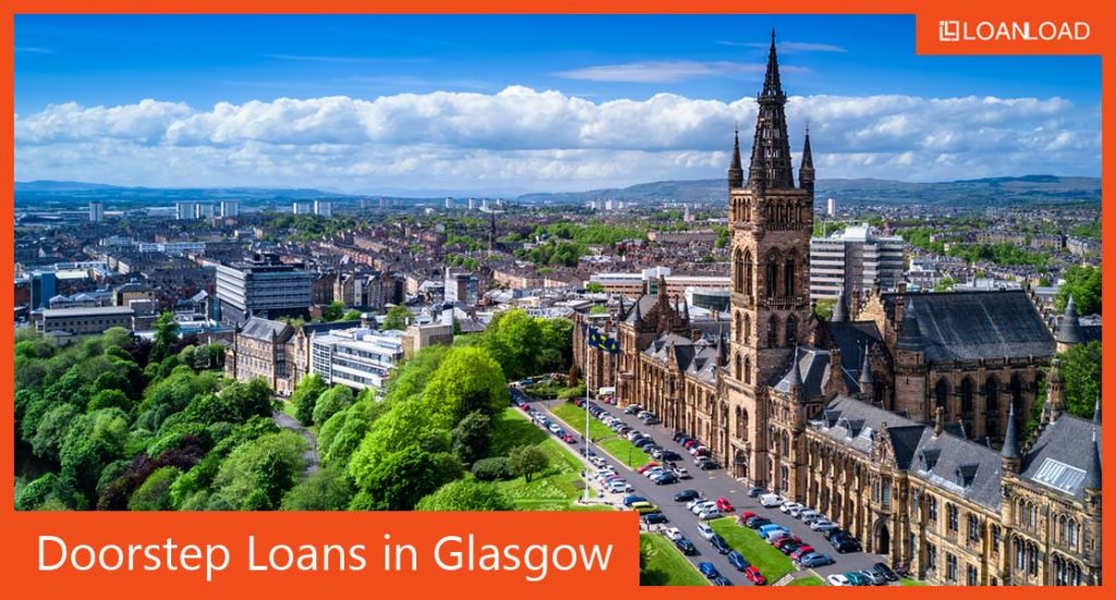 finding doorstep loans in Glasgow online