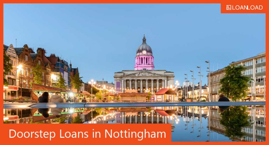 doorstep loans and alternatives in Nottingham