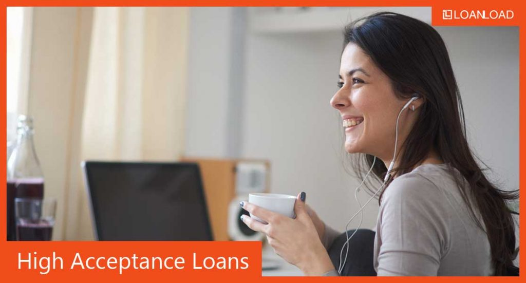 high acceptance loans online